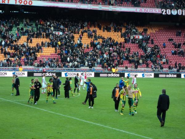 Ajax - ADO Den Haag: 0-1 (2010/2011)