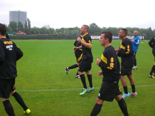 Eerste training 2013/2014