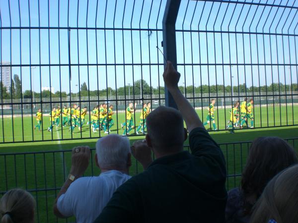 Eerste training 2011/2012